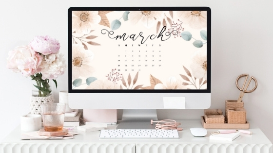 March Free Wallpaper